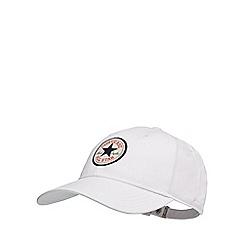 Converse - White logo applique baseball hat