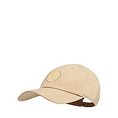 Converse - Beige logo applique baseball hat