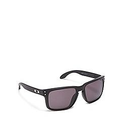 Oakley - Grey plastic 'Holbrook' OO9102 square sunglasses