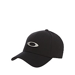 Oakley - Black logo baseball hat with wool a5656412c4a