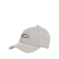 Oakley - Light grey logo baseball hat with wool