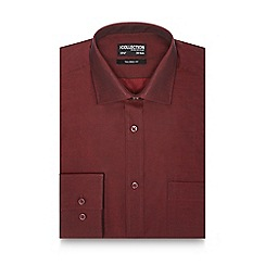 The Collection - Big and tall red tailored fit shirt