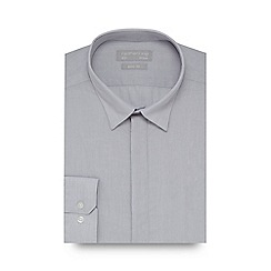 Red Herring - Light grey slim fit shirt