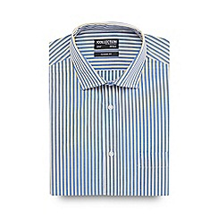 The Collection - Big and tall multi-coloured striped shirt