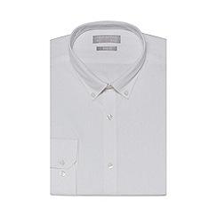 Red Herring - White poplin slim fit shirt