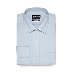 The Collection - Light blue easy care shirt