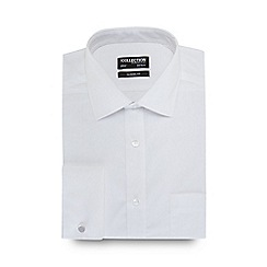 The Collection - White easy care shirt
