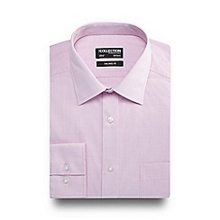 The Collection - Big and tall light pink tailored fit shirt