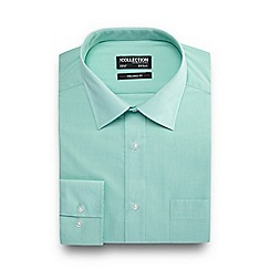 The Collection - Green tailored fit shirt