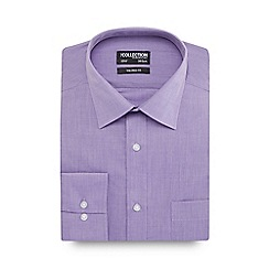 The Collection - Purple tailored fit shirt