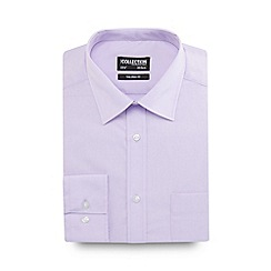 The Collection - Light purple tailored fit shirt