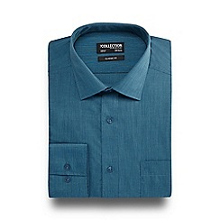 The Collection - Dark turquoise plain tonic shirt