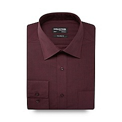 The Collection - Dark pink tailored fit shirt