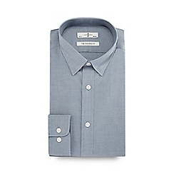 J by Jasper Conran - Grey guard stripe tailored fit shirt
