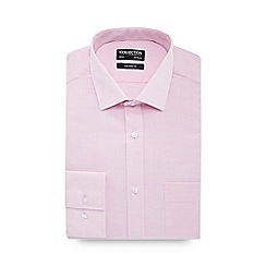 The Collection - Pink long sleeve tailored fit shirt