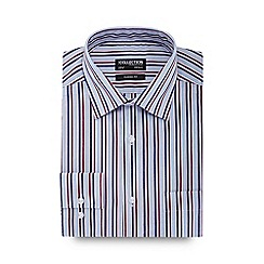 The Collection - Big and tall multicoloured striped regular fit long sleeve regular fit shirt