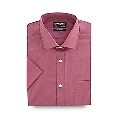 The Collection - Rose easy care short sleeve classic fit shirt
