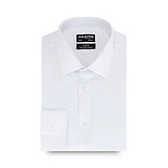 The Collection - White long sleeve non iron slim fit shirt