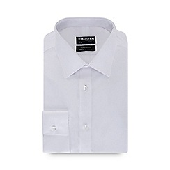 The Collection - White long sleeve non-iron classic fit shirt