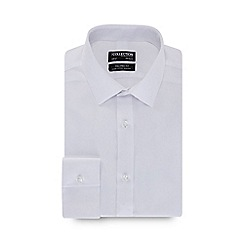 The Collection - White long sleeve non-iron tailored fit shirt