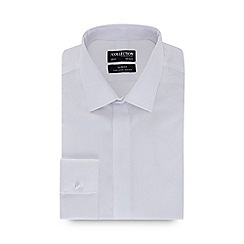 The Collection - White long sleeve non-iron slim fit shirt