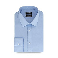 The Collection - Blue long sleeve non iron tailored fit shirt