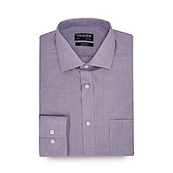 The Collection - Lilac Long Sleeve Classic Fit Shirt