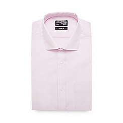 The Collection - Light Pink Long Sleeve Classic Fit Shirt