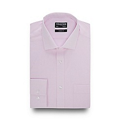 The Collection - Pink Grid Check Long Sleeve Classic Fit Shirt
