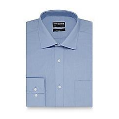The Collection - Light blue plain regular fit shirt