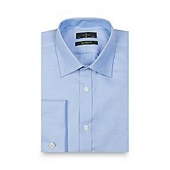 J by Jasper Conran - Big and tall blue striped shirt