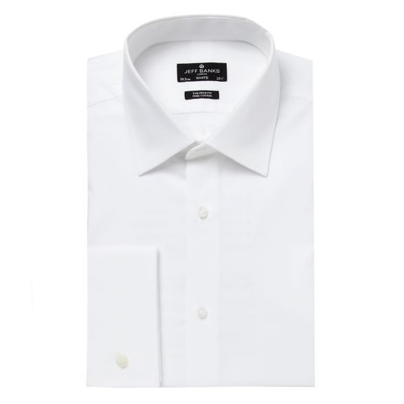 Big tailored tall shirt Jeff collar white and Banks designer cutaway U5q5pSHwO