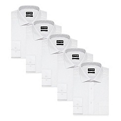 The Collection - White long sleeve button down shirt