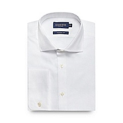 Osborne - White regular fit Oxford shirt