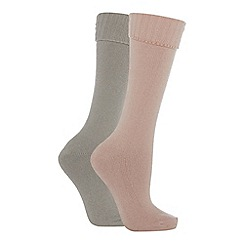 The Collection - 2 pack thermal ankle socks