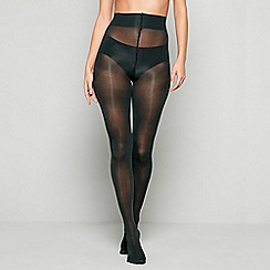 J by Jasper Conran - Dark green 60 denier opaque tights