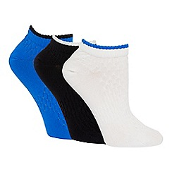 The Collection - 5 pack multi-coloured trainer socks