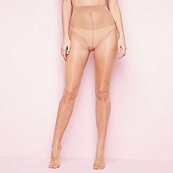 Debenhams - Natural 7 denier sheer tights