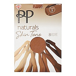 Pretty Polly - Natural 8 denier tights