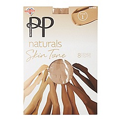 Pretty Polly - Natural 8 denier 'Shade 1' tights