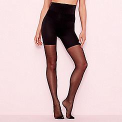 Aristoc - Black 10 denier hourglass tights
