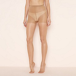 Aristoc - Natural 10 denier 'Ultra Shine' control top tights