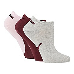 Puma - 3 pack cotton blend trainer socks