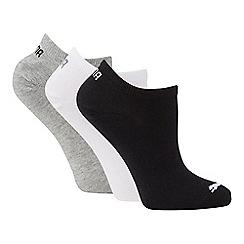 Puma - 3 pack multicoloured trainer socks