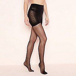 Aristoc - Black 15 denier low leg toner tights