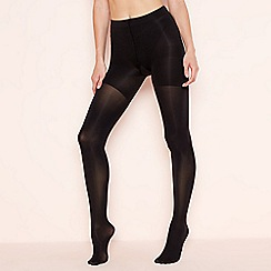 Aristoc - Black 60 denier 'Bodytoners' opaque silk finish tights