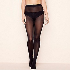 The Collection - 3 pack black opaque microfibre 60 denier tights