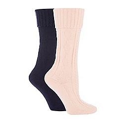 The Collection - 2 pack supersoft thermal socks