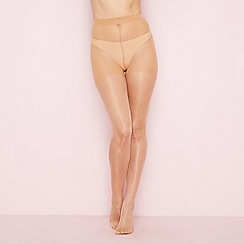 The Collection - Light cream sheer smoothing 15 denier tights