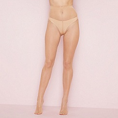 The Collection - Light cream sheer 7 denier tights